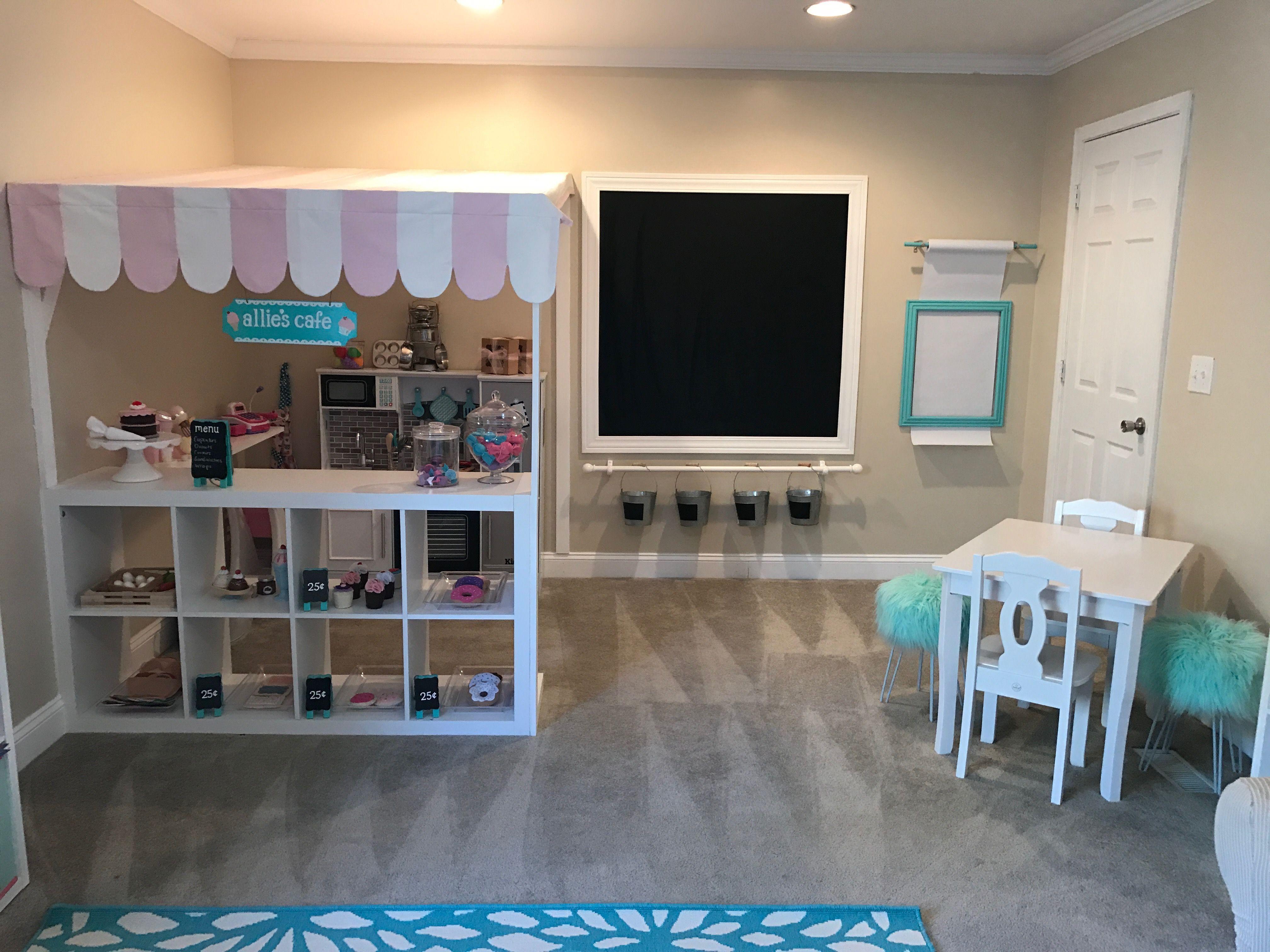Kids Playroom Ideas Playroom Ideas Kids Cafe Kids Kitchen Play Area Kids Art Area Chalkboard Toy Room Decor Modern Playroom Playroom Design