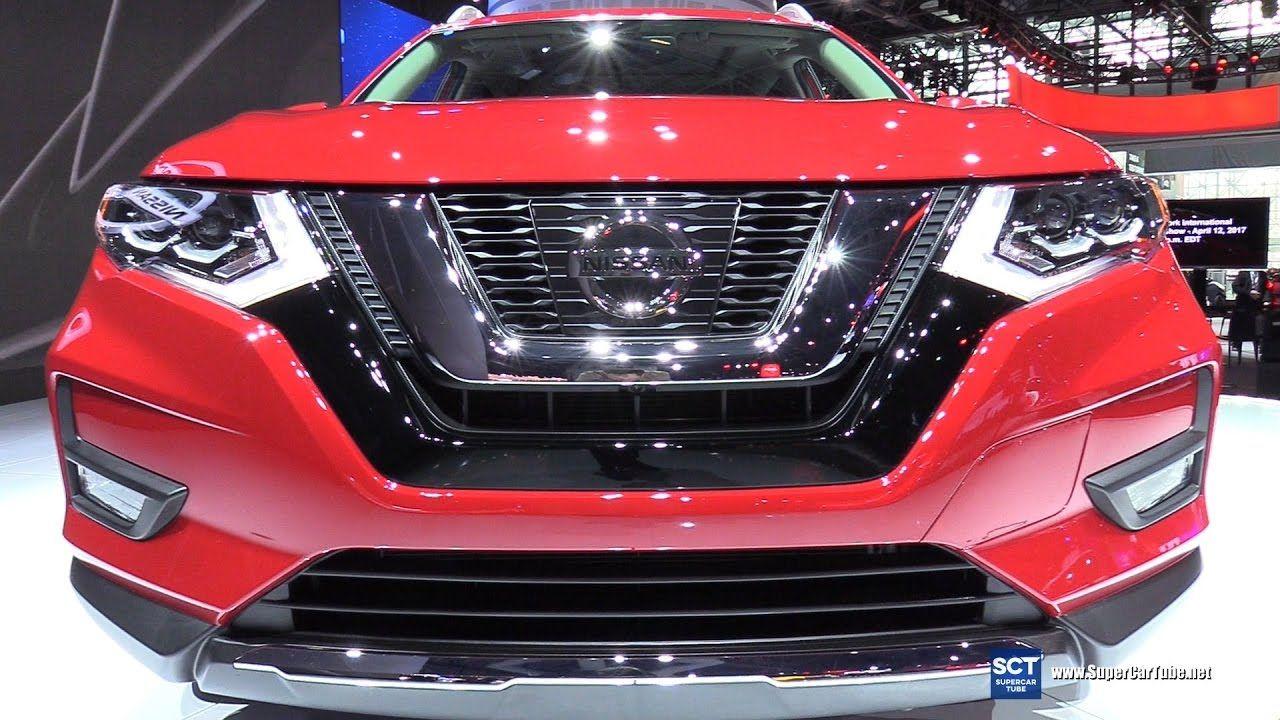 2018 Nissan Rogue SL AWD Exterior and Interior