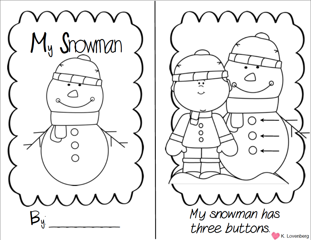 Freebie adorable thematic unit you can use all winter includes