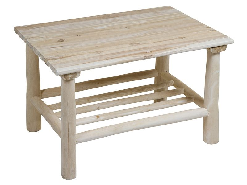 mesa de centro teca