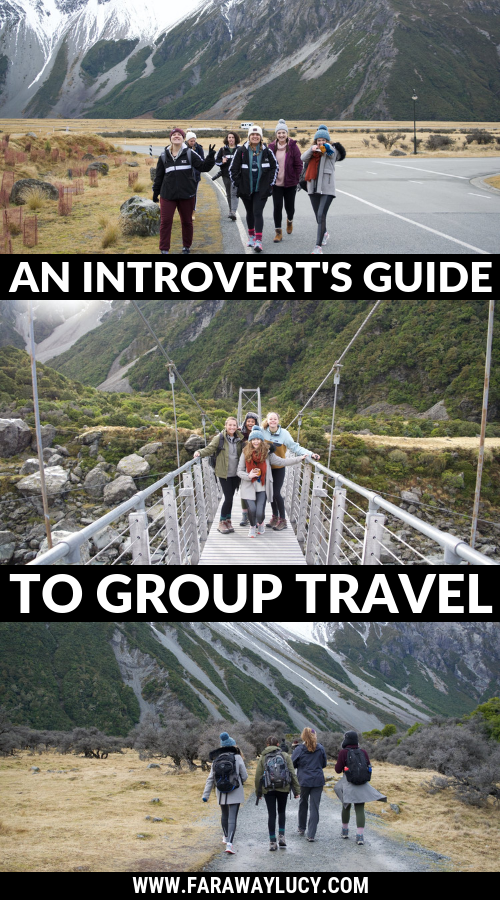 Introvert travel. An introvert's guide to group travel. How to travel in a group as an introvert. Group travel tours as an introvert. Introvert travel blog. Introvert travel guide. Introvert travel tips. Introvert group travel. Travel tours for introverts. Click through to read more...
