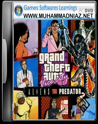 GTA Alien vs Predator 2 Cover Free Download | Games | Alien vs