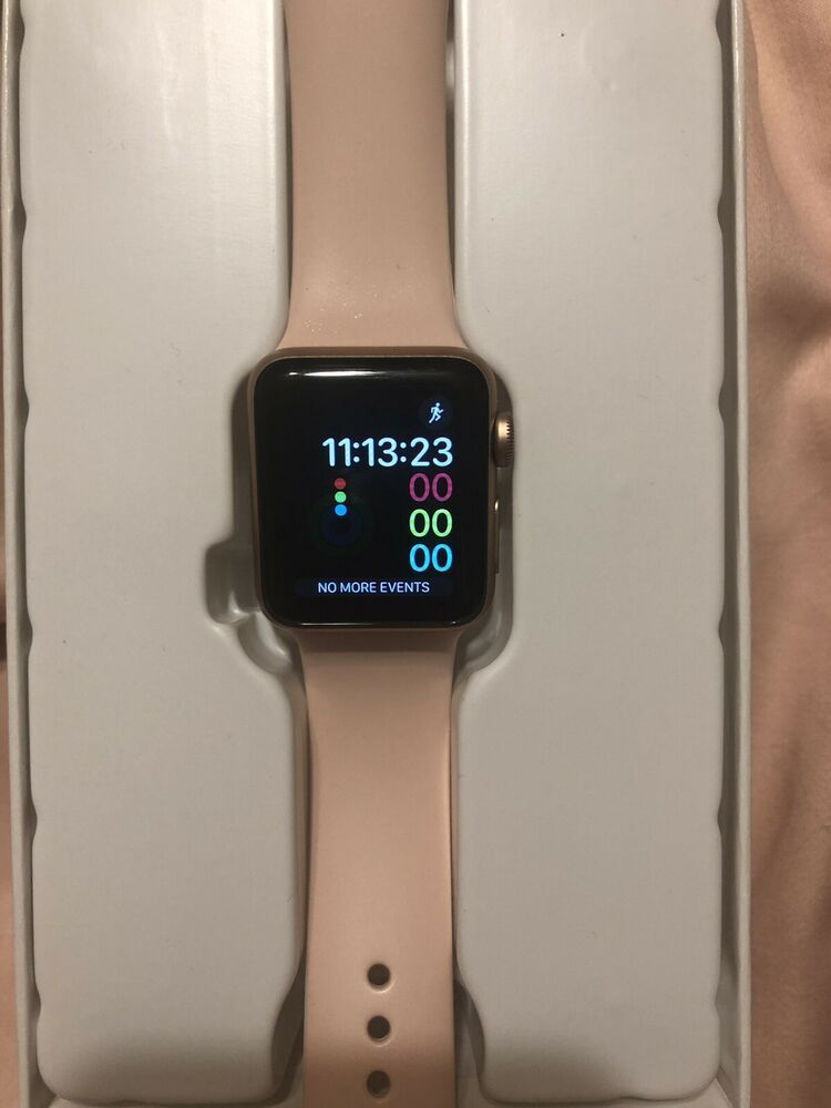 Apple Watch Series 3 38mm Cellular Gps Rose Gold Applewatch