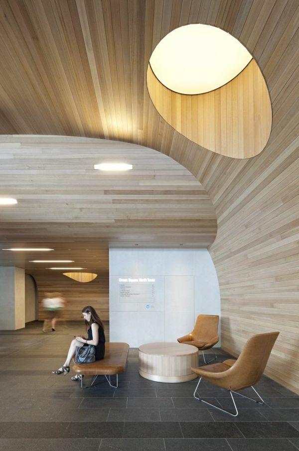 wandverkleidung aus holz ideen f r den innen und den au enbereich moderne architektur. Black Bedroom Furniture Sets. Home Design Ideas