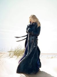 "Lily Donaldson in ""She's Like the Wind"" feature Oct Harper's Bazaar UK. Shot by David Slijper"