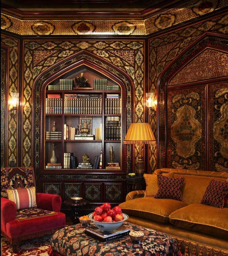 Luxury oriental #residential #interior design
