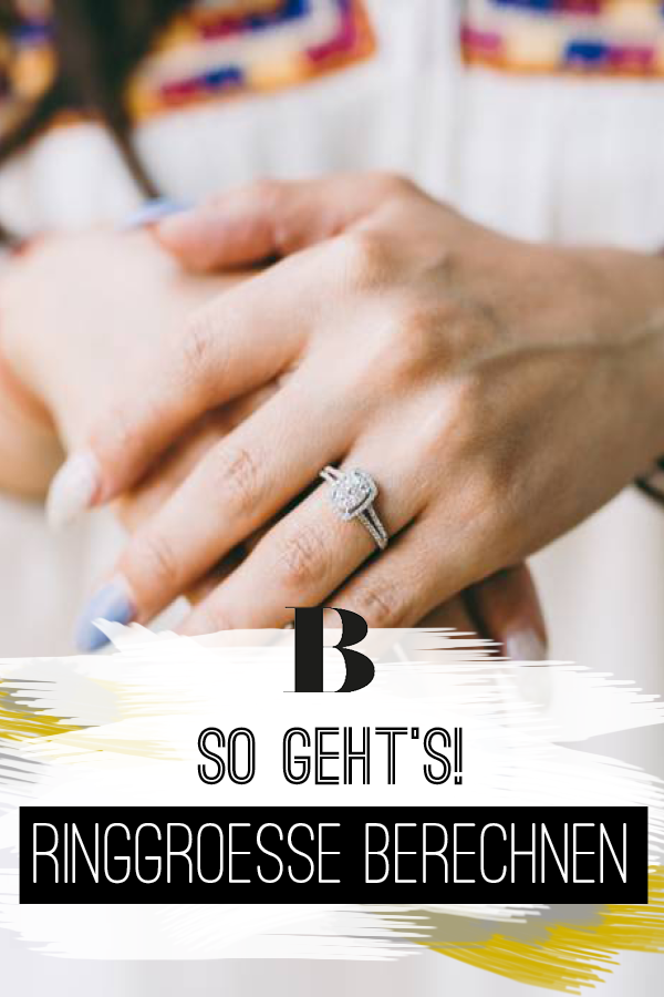 Spätestens beim Online-Shopping von Schmuck stellt man sich doch die Frage: Welche Ringgröße habe ich eigentlich? Wir verraten, wie du deine Ringgröße messen kannst.