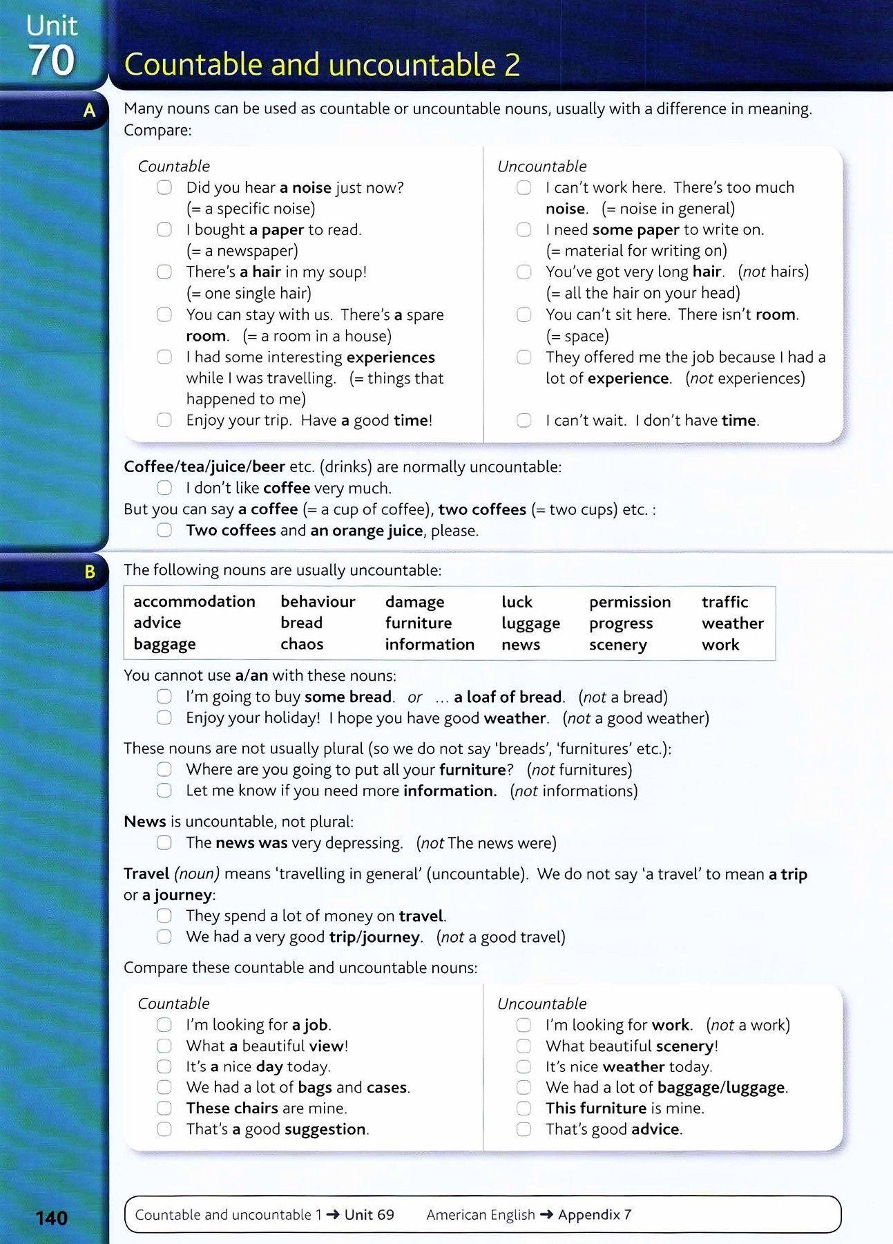 4 Free Grammar Worksheets Nouns