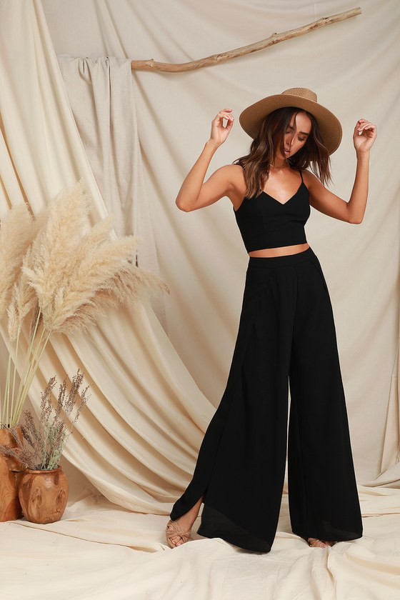 Photo of Out Tonight Black Two-Piece Jumpsuit