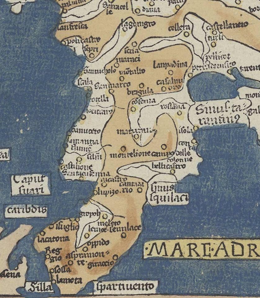 Calabria Antica Mappe Antiche Mappe Geografia