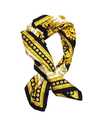 bc30d63e5ae3 Versace Gold Design Scarf