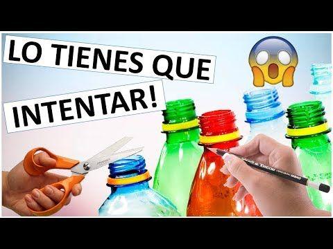 Manualidades Faciles Y Rapidas Con Botellas De Plastico En Este
