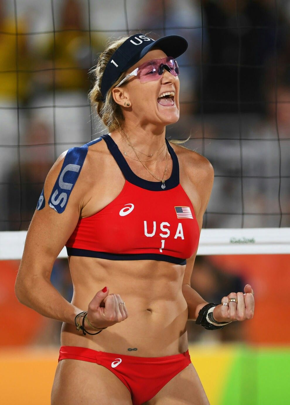 Rio Olympics Beach Volleyball Kinesiology Taping Kerri Walsh Kerri Walsh Jennings