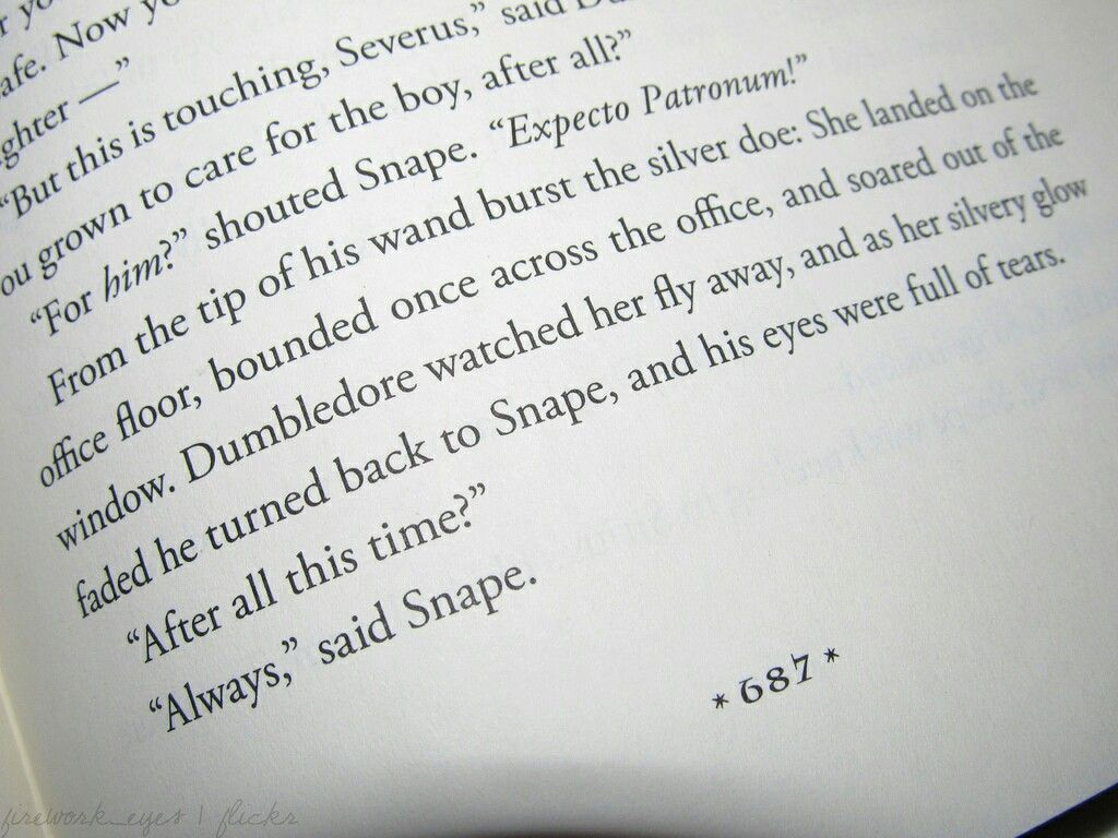 After All This Time Always Page 687 Always Harry Potter Harry Potter Severus Snape Harry Potter Tattoos