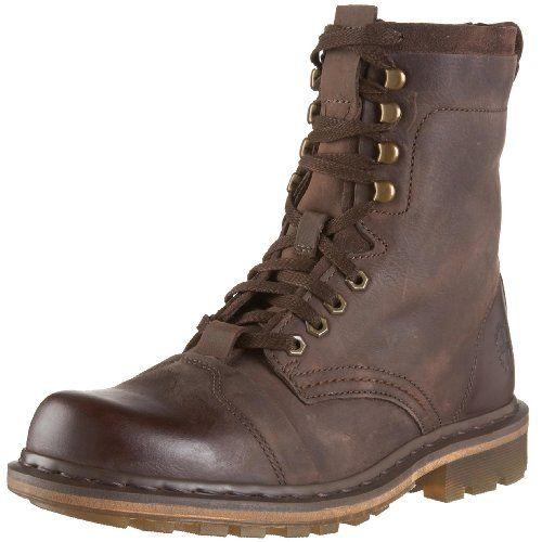 Dr. Martens Men's Pier Boot,Dark Brown,9 UK (US Men's 10