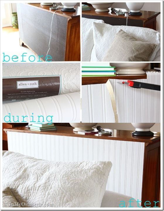 Furniture-Makeover-with-Wallpaper