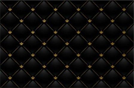 Black Checkered Tile Background Vector