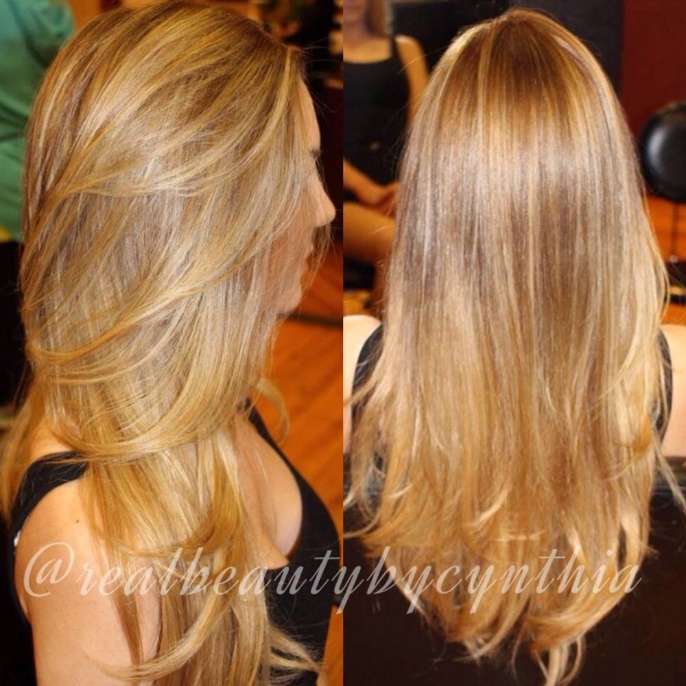 Blonde Hair Color With Highlights And Lowlights  hair  Pinterest