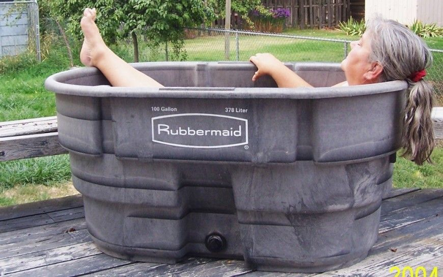 Set Up Your Own Soaking Tub For Less Than 100 Soaking Tub Outdoor Tub Japanese Soaking Tubs