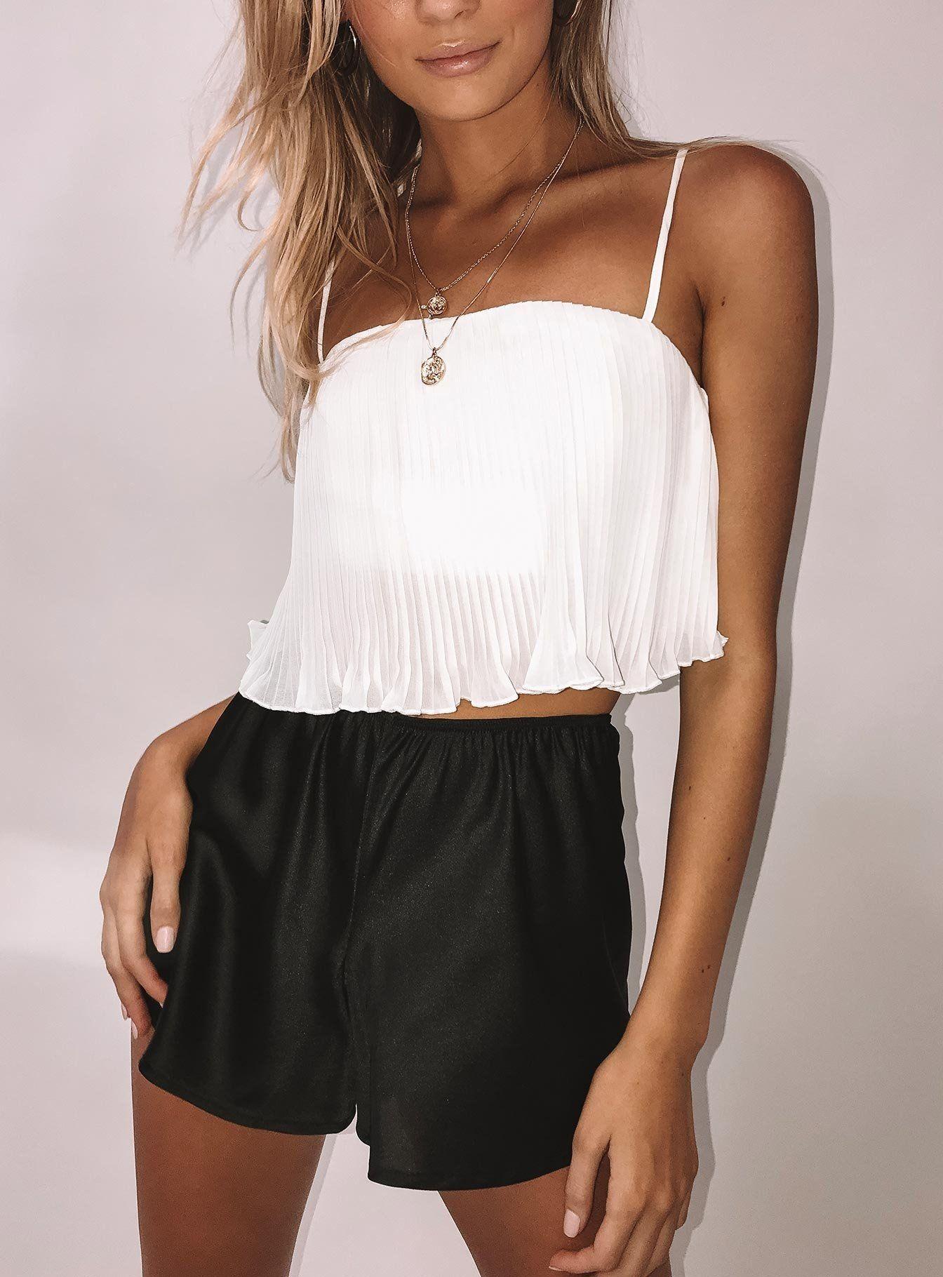 Arrowhead Top White US 4 / White Fashion, Cheap womens