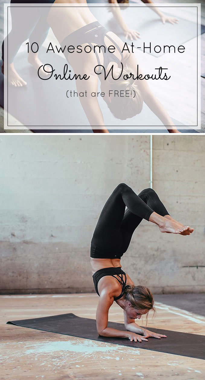 a61fa371605 10 of the best FREE online workouts you can do at home (and still feel like  you ve kicked some butt for the day!) Click through for the details.