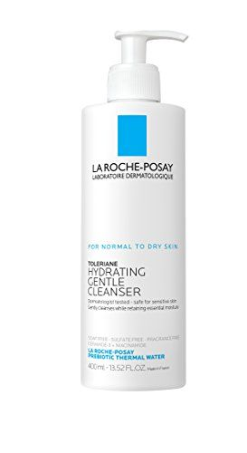 La Rocheposay Toleriane Hydrating Gentle Face Wash Cleanser For Normal To Dry Sensitive Skin 135 Fl Oz Dry Skin Body Extra Dry Skin Skin Cleanser Products