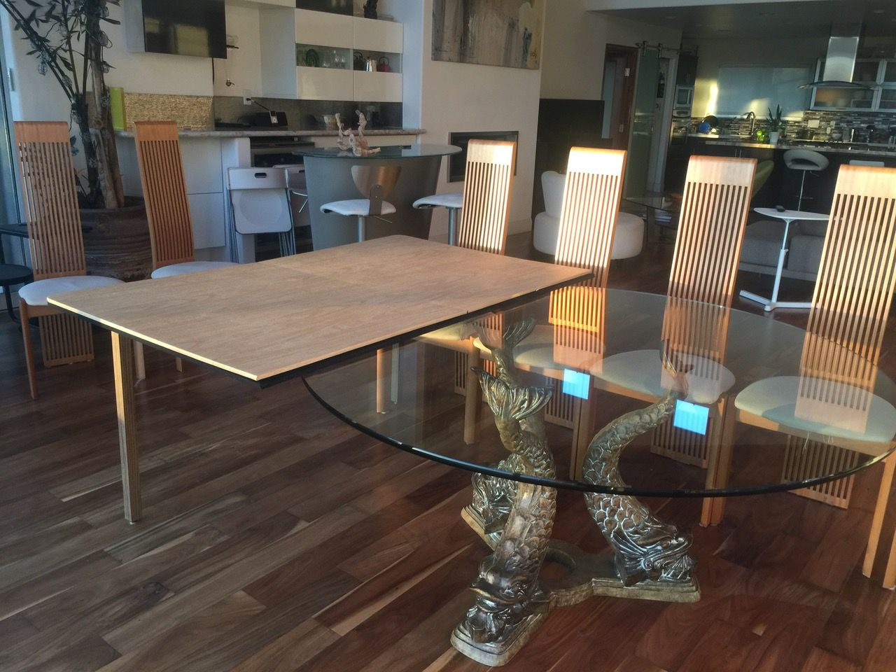 How To Extend Your Existing Table To Accommodate More People Buy Table Extension Pad This Is Dining Room Table Dining Room Table Set Dining Room Table Marble