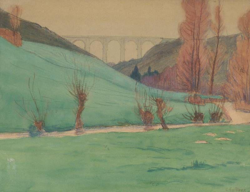 Charles Guilloux Peintre Aquarelle Et Jour J