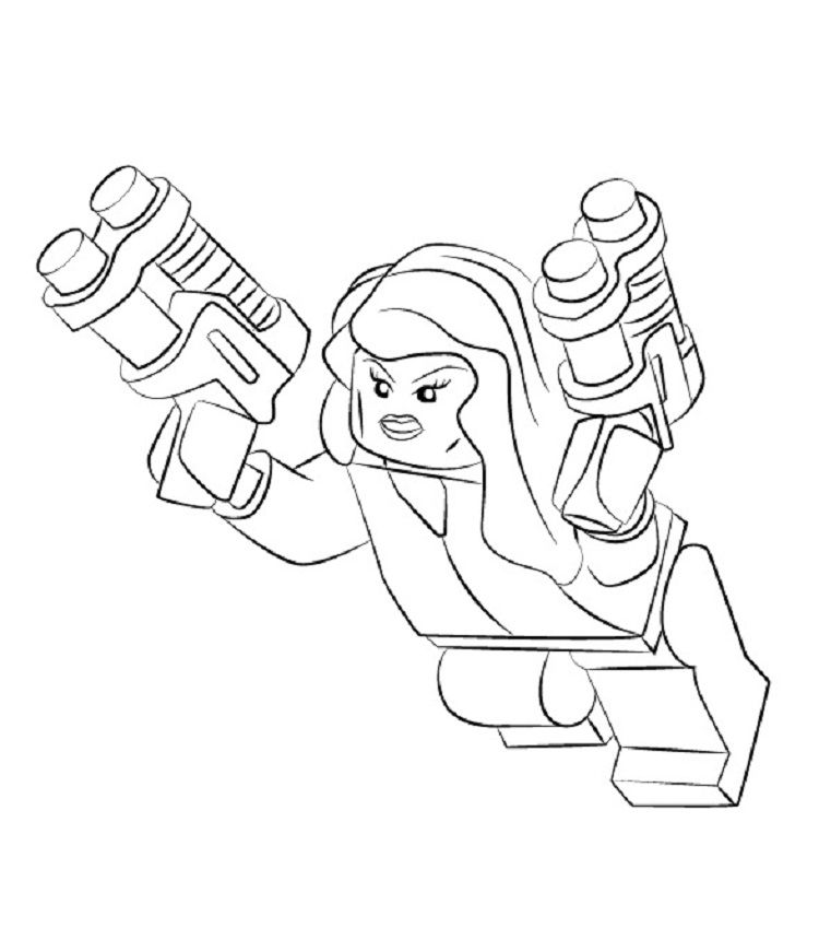 Lego Black Widow Coloring Pages Black Widow Coloring