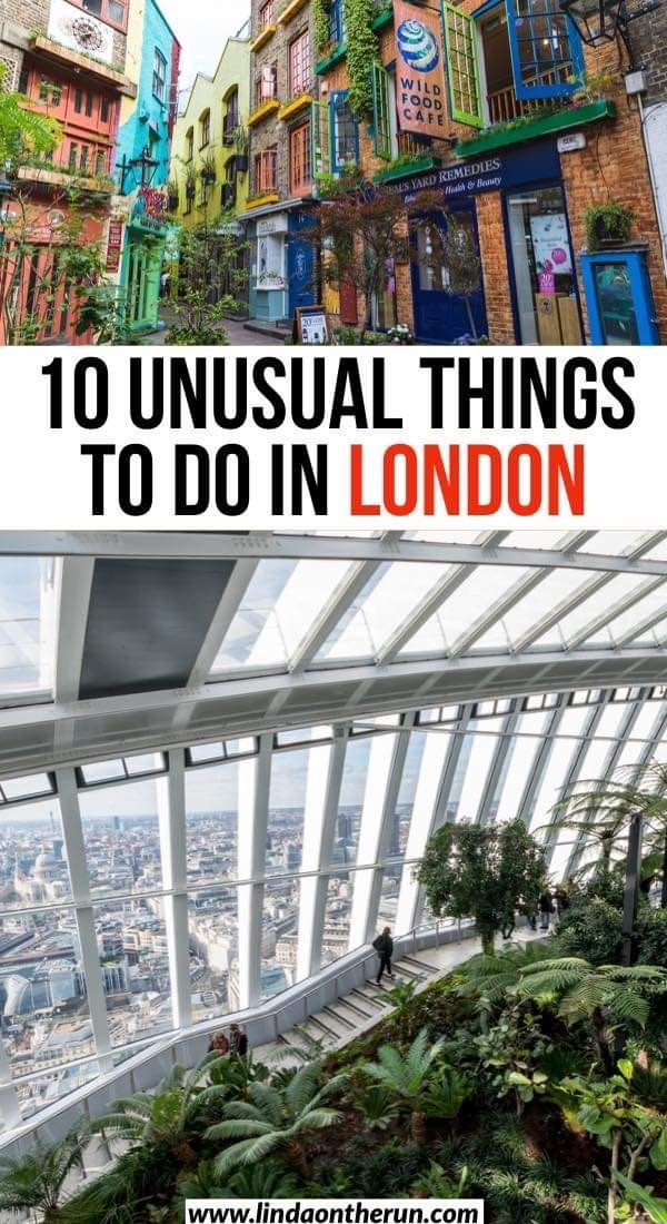 14 Unusual Things To Do In London - Linda On The Run
