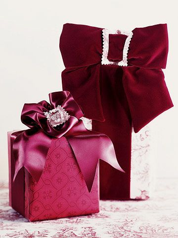 Elegant Gift Wrapping Christmas Gift Bow Gift Bows