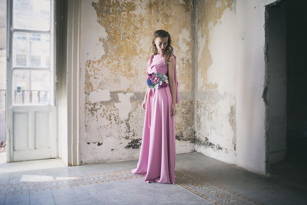 Pink Peony Dress