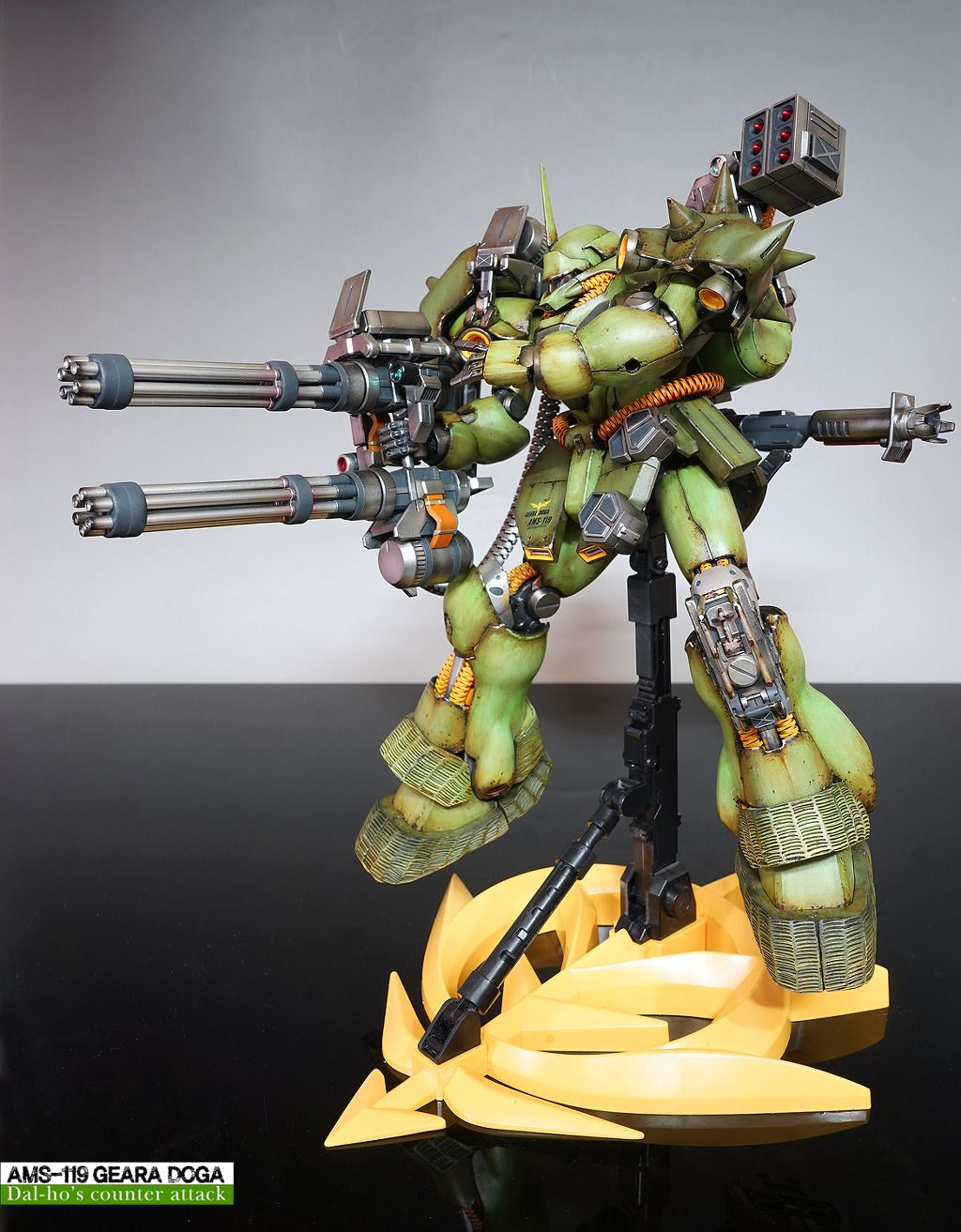 MG 1/100 AMS119 Geara Doga Customized Build ガンダム