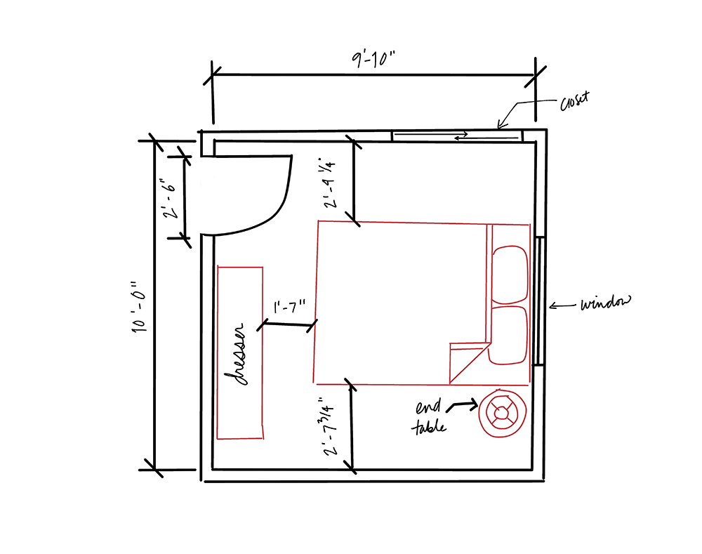 Small Bedroom Design Part 1 Space Planning Small Room Layouts Small Bedroom Designs Small Bedroom Layout