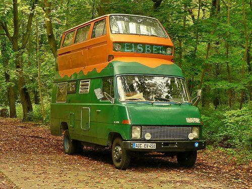 wohnmobil hybrid frankreich pinterest vw crazy cars and vw camper vans. Black Bedroom Furniture Sets. Home Design Ideas