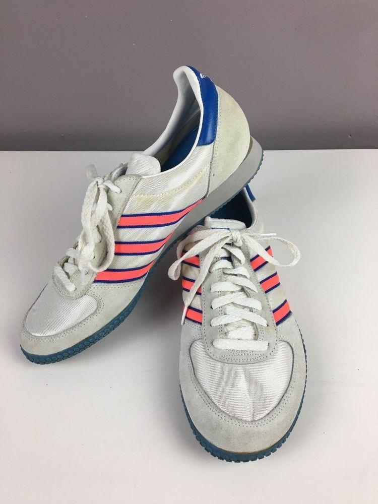 ADIDAS ADIRACER INDOOR ATHLETIC RUNNING SHOES VTG 80'S AUTHENTIC MENS 10  RARE! #adidas #