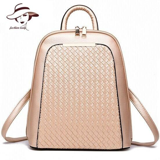 70199b65eaed 2017 Vintage Casual New Style Backpack Leather High Quality Hotsale Women  Candy Clutch Ofertas Famous Designer