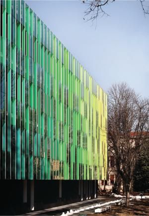 Architectural Fins Google Search Pixelated Facade