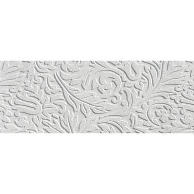 MARTHA STEWART LIVING Damask Paintable Wallpaper Painting It White On  White. Doing It Just