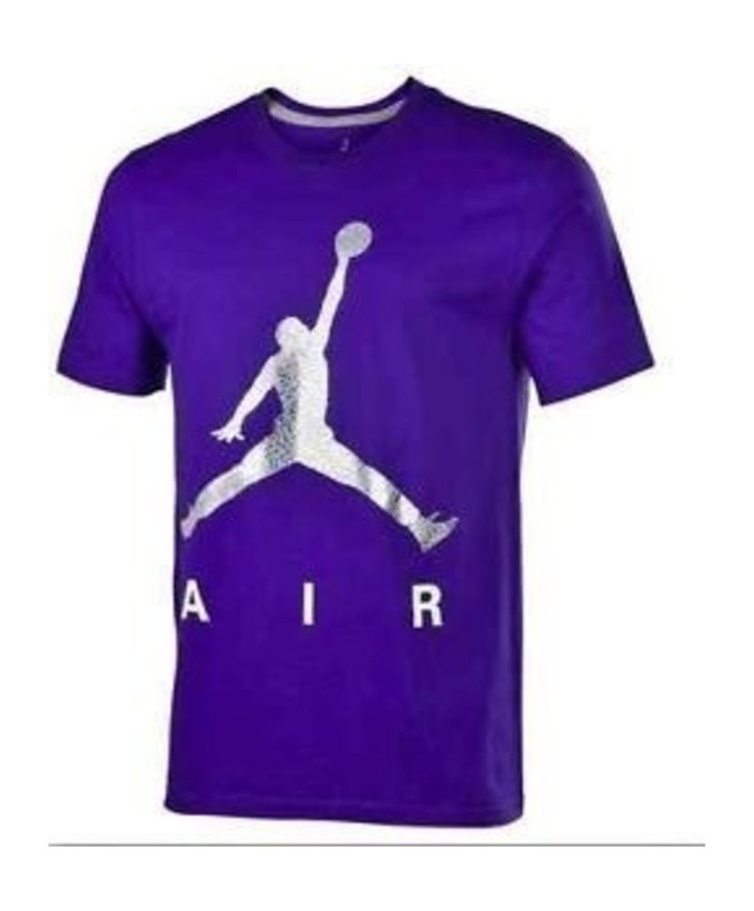9baa94cde520 MEN S NIKE AIR JORDAN FOIL METALLIC JUMPMAN T-SHIRT SIZE 3XL NWT  Nike   GraphicTee