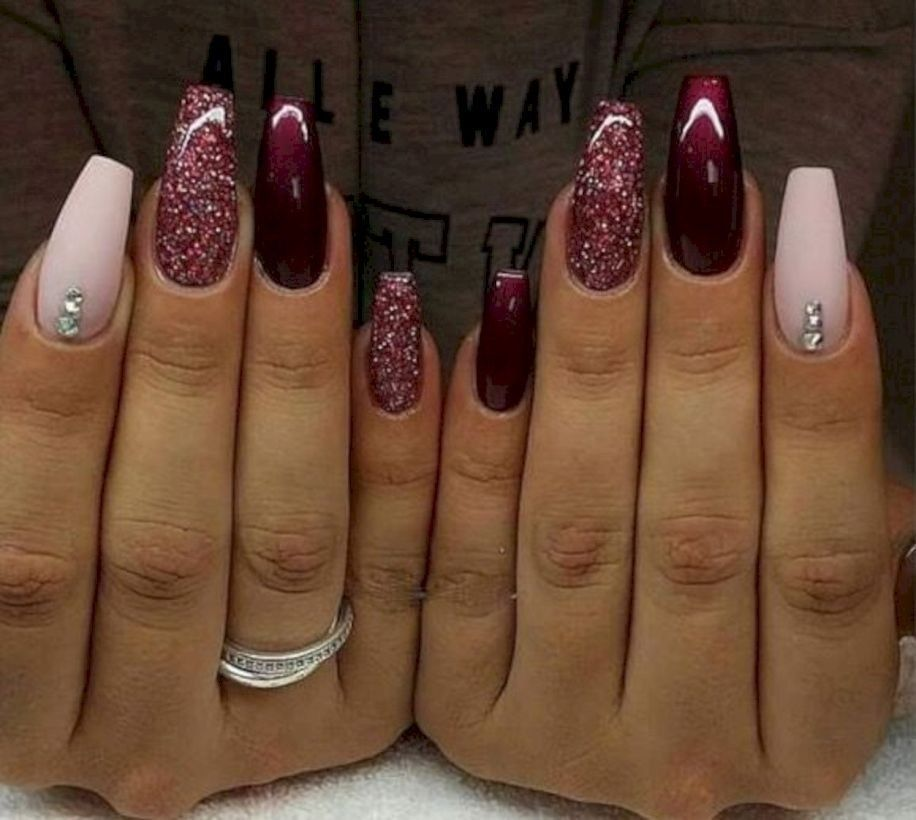 37 Accent Flower Nail Art Ideas Just For You - 99outfit