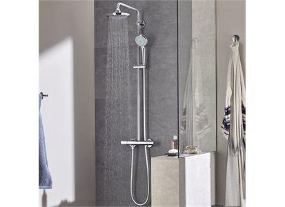 Grohe Euphoria 180 Dusjsystem O180 Mm Krom Shower Systems