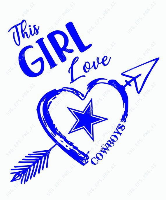 Download This girl loves cowboys svg, Cowboys Fans Svg, NFL Logo ...