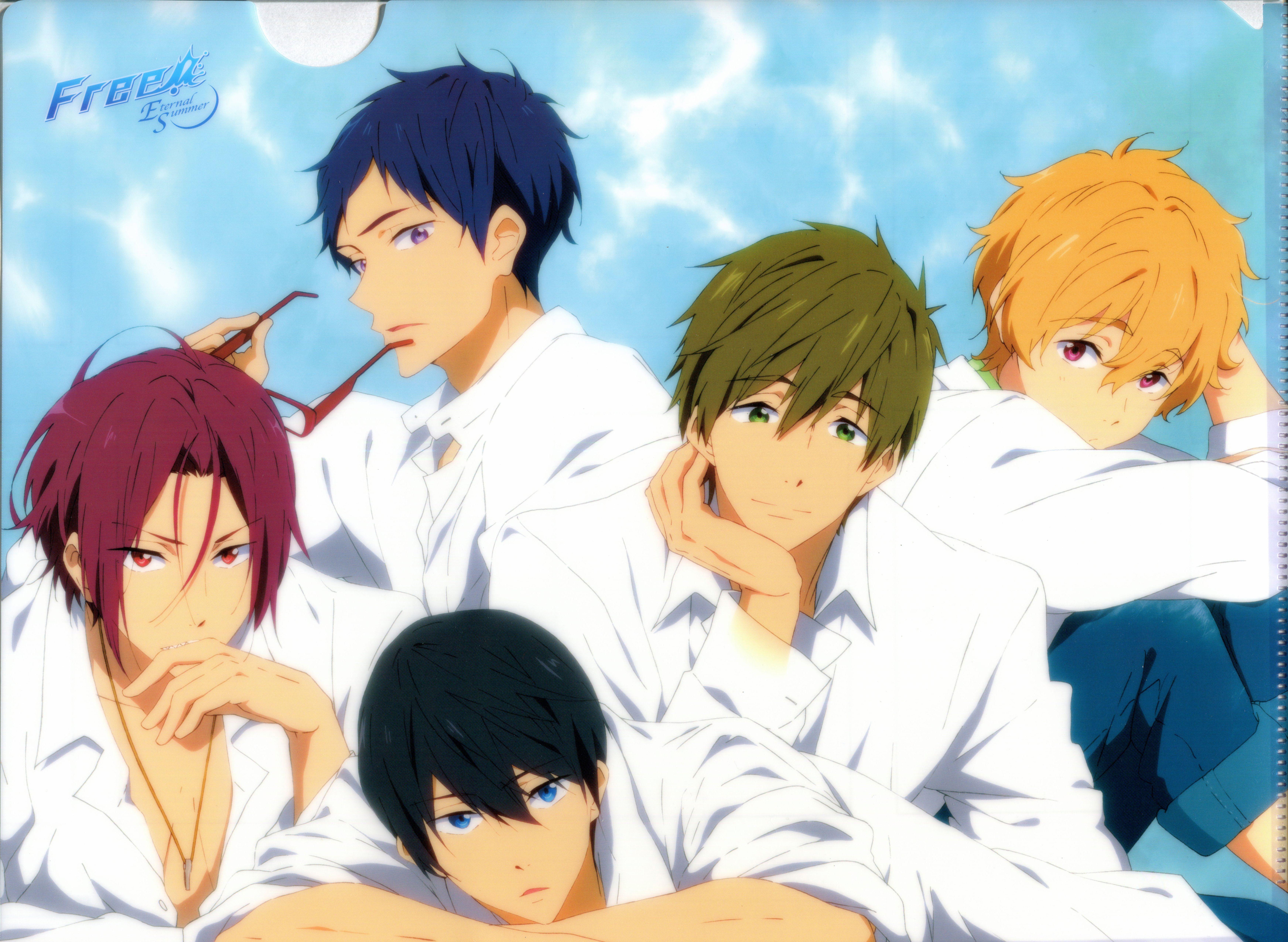 Free!   Official Art   Free anime, Splash free, Free iwatobi
