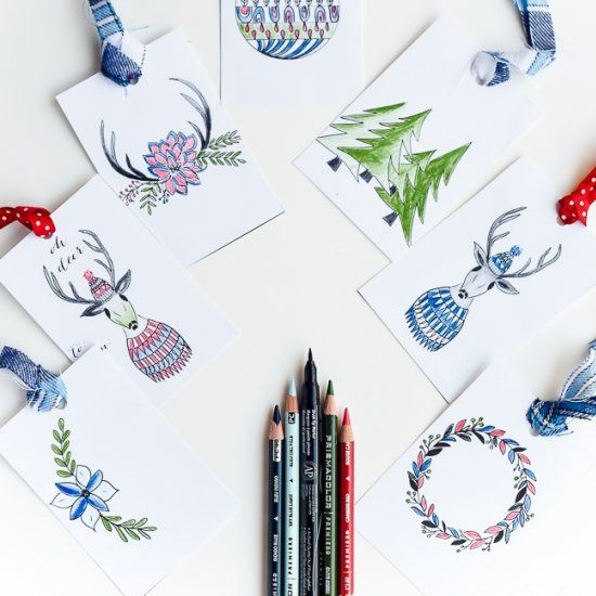 Coloring Isnt Just For Kids Print These Fun And Adorable Gift Tags