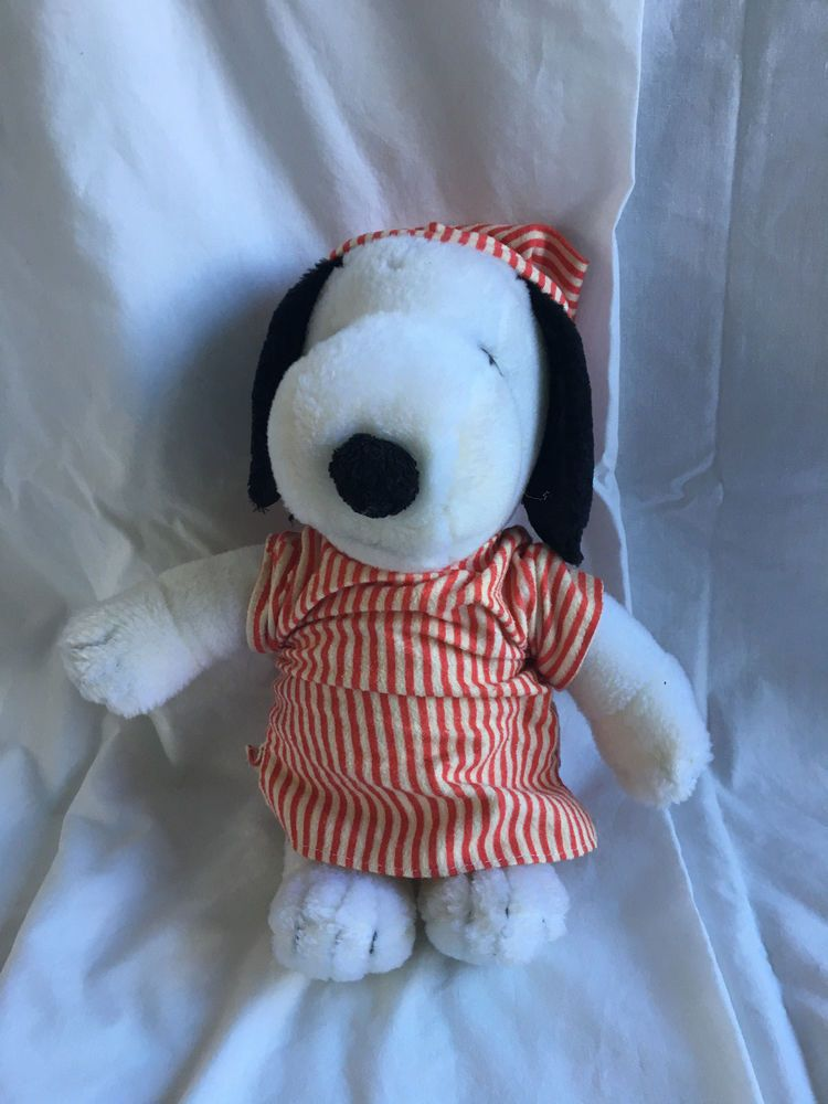 Vintage Peanuts Snoopy plush toy small | Snoopy plush