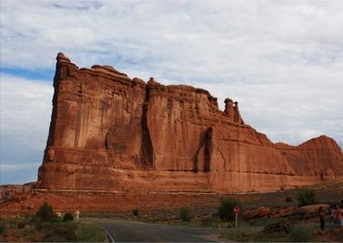 Courthouse, Arches National Park. Another fine tour with East-West Global Tours. www.eastwestglobaltour.com www.eastwestglobaltravel.com