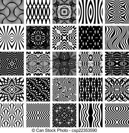 graphique noir et blanc carreau vague recherche google. Black Bedroom Furniture Sets. Home Design Ideas