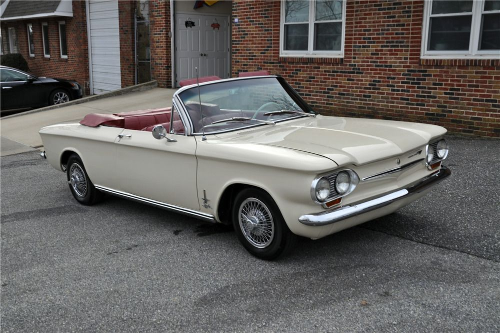 Sold At Palm Beach 2019 Lot 322 1 1963 Chevrolet Corvair Monza