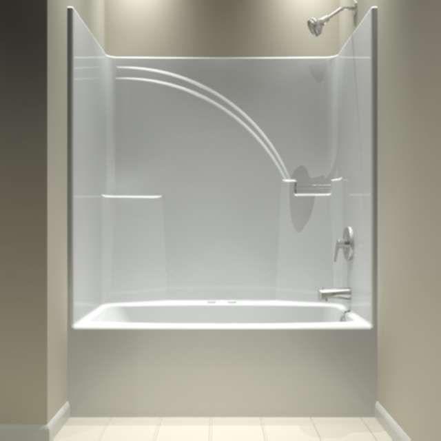 one piece bathtub shower unit | bathtub shower in 2019 | pinterest
